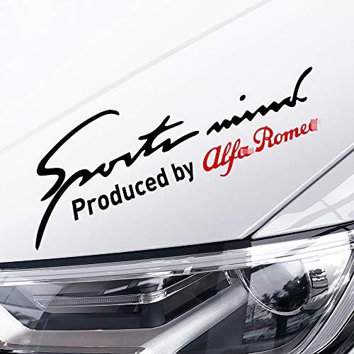 MYlnb Für Alfa Romeo Giulia Giulietta 159 156 MITO Stelvio 147, Auto Lampe Augenbrauen Refit Scheinwerfer Reflective Aufkleber Auto Zubehör