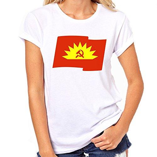 Vlag van het communisme T-Shirt Womens Classic T-Shirt