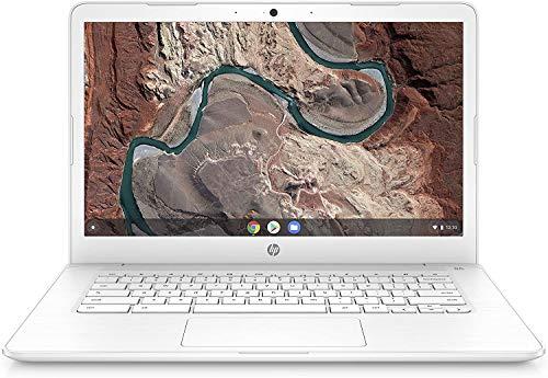 HP 14' FHD IPS Anti-glare WLED-backlit Chromebook Laptop, AMD Dual-Core A4 9120 Processor, 4GB DDR4, 32GB eMMC, WiFi, Bluetooth, Webcam, USB 3.1-C, Media Card Reader, Chrome OS, 32GB ABYS MicroSD Card