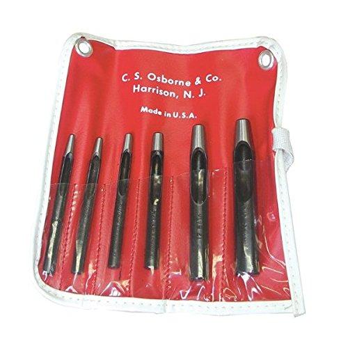 K-245, 6 Hole Punch Set by C.S. Osborne