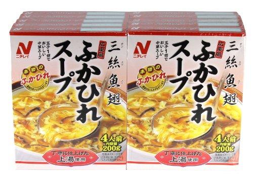 ニチレイフーズ 広東風ふかひれスープ180g ×10個