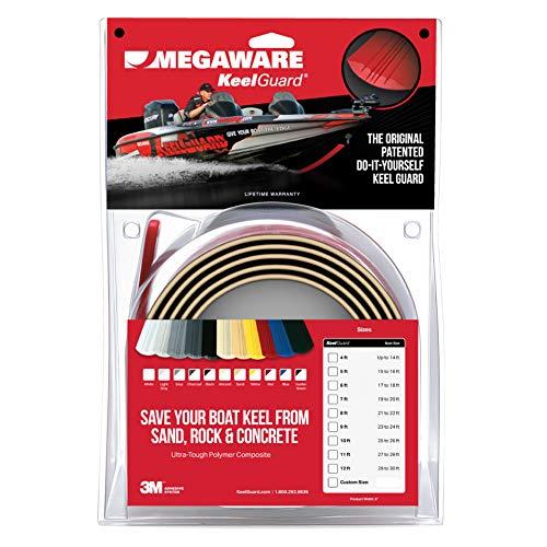Megaware KeelGuard Serie 102Protector de quilla para fibra de vidrio