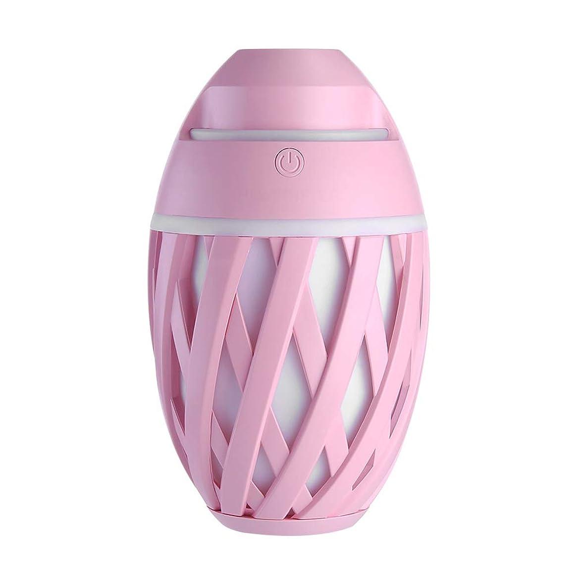 接続詞バックグラウンドスカープ加湿器ミニUsbホーム静かなエアコンルームオフィス妊娠中の女性の赤ちゃん空気保湿清浄器,Pink