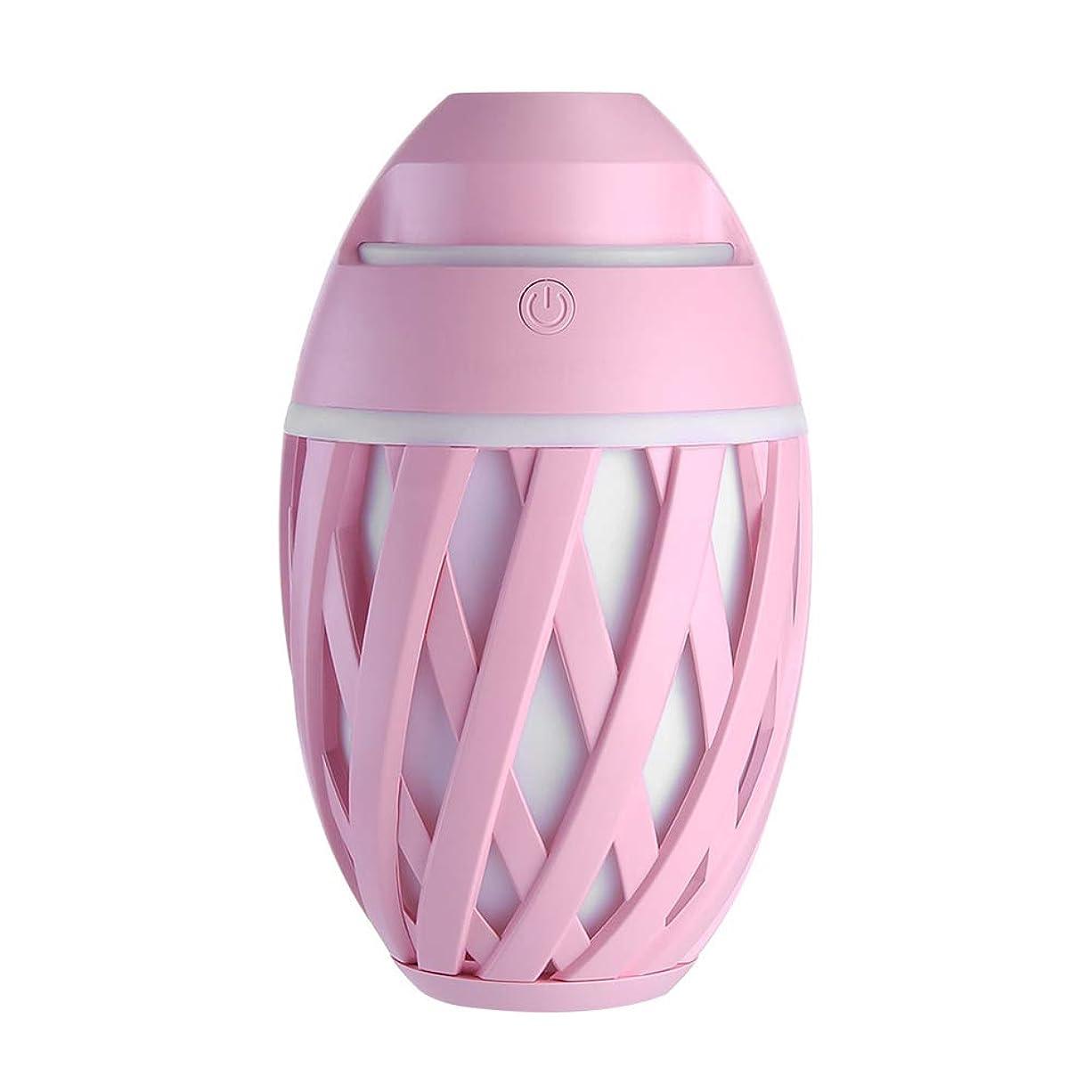 すごいルーフオピエート加湿器ミニUsbホーム静かなエアコンルームオフィス妊娠中の女性の赤ちゃん空気保湿清浄器,Pink