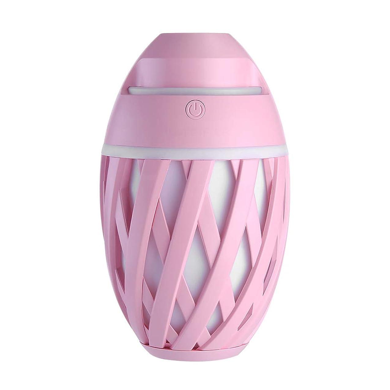 日付ロケットはねかける加湿器ミニUsbホーム静かなエアコンルームオフィス妊娠中の女性の赤ちゃん空気保湿清浄器,Pink