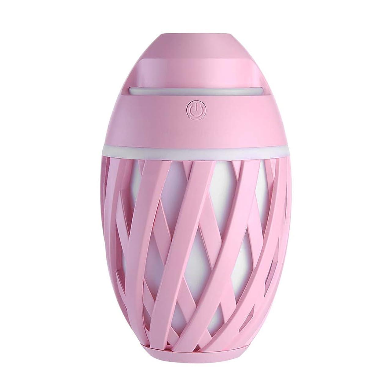 魚テロクラブ加湿器ミニUsbホーム静かなエアコンルームオフィス妊娠中の女性の赤ちゃん空気保湿清浄器,Pink