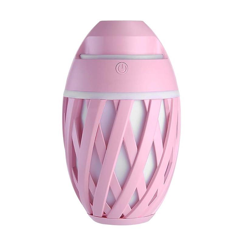 ミケランジェロ温度計明快加湿器ミニUsbホーム静かなエアコンルームオフィス妊娠中の女性の赤ちゃん空気保湿清浄器,Pink