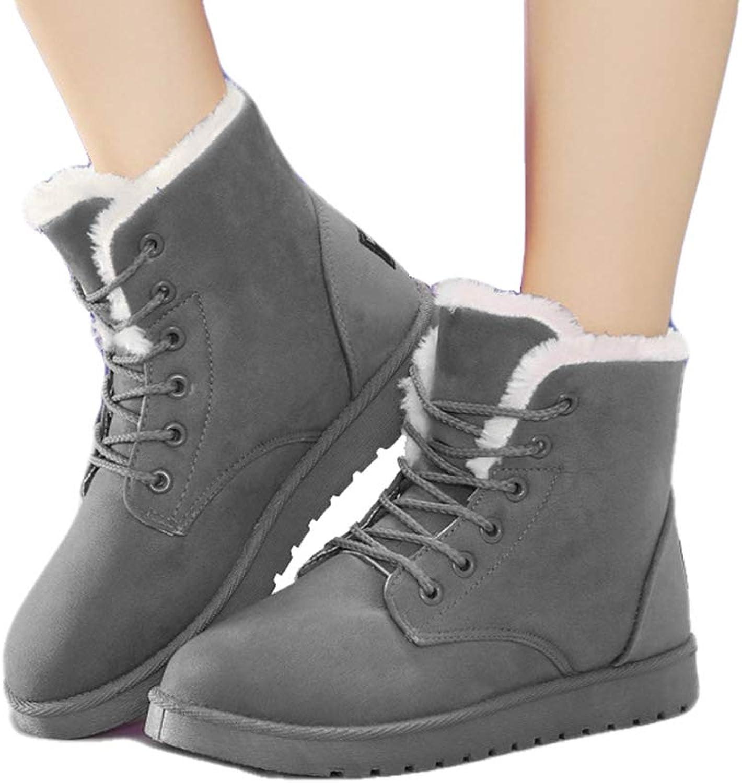 Drew Toby Womens Snow Boots Winter Short Tube Plus Velvet Warm Cotton shoes
