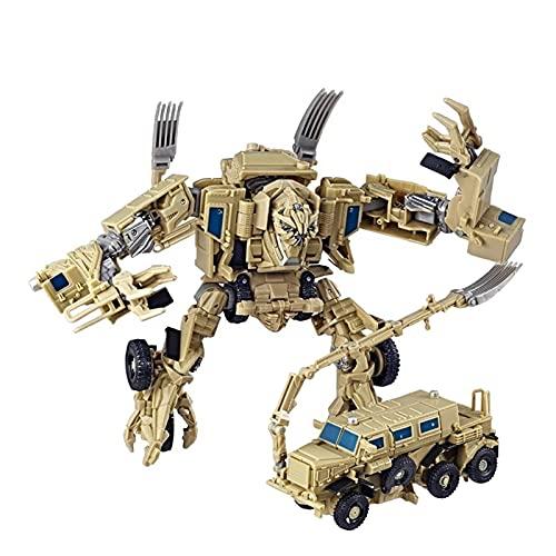 CZWNB El Juguete Transformers Favorito de los Niños, KO Transformers Toy Decepticons Bone Smasher Movible Robot Doll Doll Gift,Juguete Modelo de Robot de deformación
