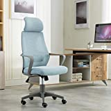 Office chair with pneumatic gas lift for height adjustment and 360 degree swivel.Product Dimensions: Length (60 cm), Width (54 cm), Height (127 cm) The Chair Is Packed & Dispatched In Semi Assembled Condition Further Assembly Is Very Easy and comes w...