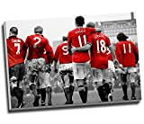 """Kunstdruck auf Leinwand """"Manchester United"""
