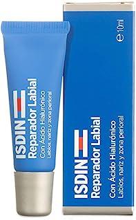 ISDIN Reparador Labial Fluido, Protege y repara los labios, la nariz y la zona perioral, con ácido hialurónico, 10ml
