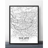 YF'PrintArt Leinwandbild,Leinwandbilder, San Jose Costa
