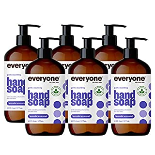 Everyone Hand Soap: Lavender and Coconut, 12.75 Ounce, 6 Count - Packaging May Vary (B01JM9FDBA) | Amazon price tracker / tracking, Amazon price history charts, Amazon price watches, Amazon price drop alerts