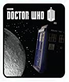 Doctor Who 'Tardis Moon Comfy Fleece Blanket Throw 50x60