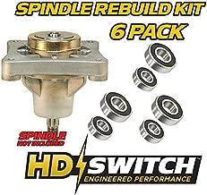 (3 Kits) Spindle Rebuild Kit Bearings Hustler 604214 Raptor 42