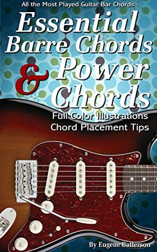 Essential Barre Chords & Power Chord Lessons: 35 Bar Chord & Power ...