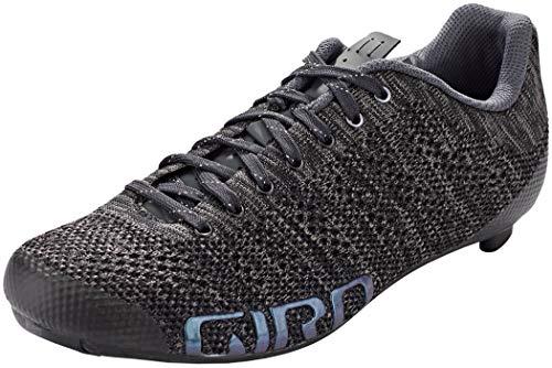 Giro Empire E70 Knit, Zapatos de Ciclismo de Carretera Mujer, Negro (Black Heather 8), 38 EU
