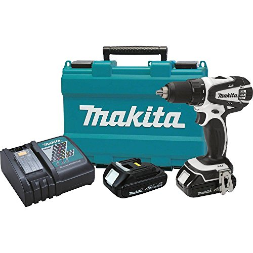 Makita XFD01CW 18V Compact Lithium-Ion Cordless 1/2' Driver-Drill (Discontinued by Manufacturer) (Renewed)