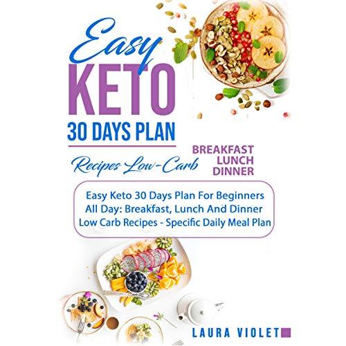 Easy Keto - 30 Days Plan audiobook cover art