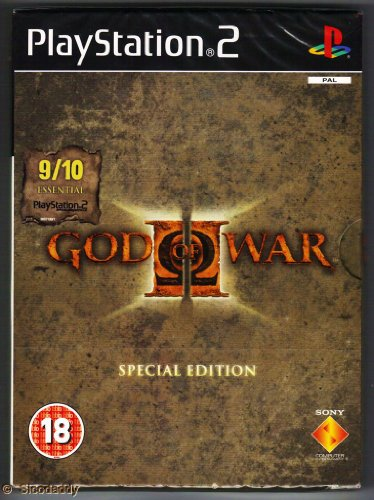 God of War 2 Special Edition (PS2) UK IMPORT