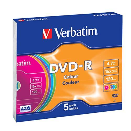 Verbatim DVD-R 4.7GB - Confezione da 5
