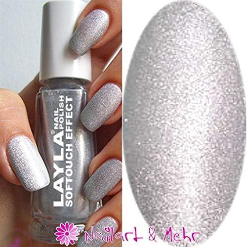 'Layla® Soft Touch Effect de vernis à ongles 10 ml, # 01 \