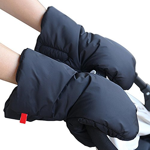 Best Prices! Yogaily Winter Warm Hand Muff for Baby Stroller or Jogger - Water Resistant Anti-freeze...