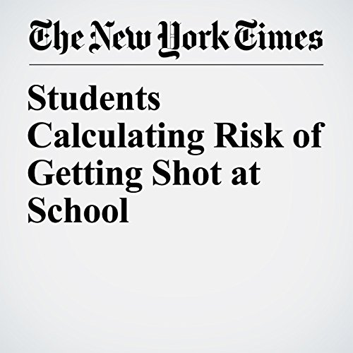 Students Calculating Risk of Getting Shot at School audiobook cover art