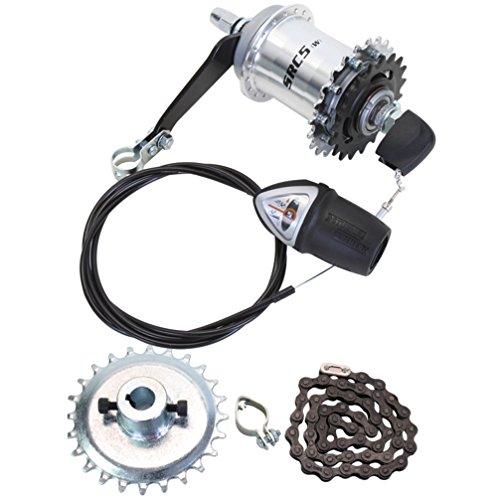 Sun 5-Speed Coaster Brake Hub Conversion Kit for Adult 3-Wheeler