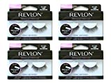 Revlon Beyond Natural Professional Eyelashes, Long Volumizing - Pack of 4