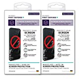2PACK QMADIX Invisible First Defense NANO Glass Screen Protector with up to $150 USD Screen Protection All Phones Tablets Smart Watches Apple Samsung iPhone iPad Galaxy and Universal
