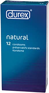 Durex Natural x 12 Condoms