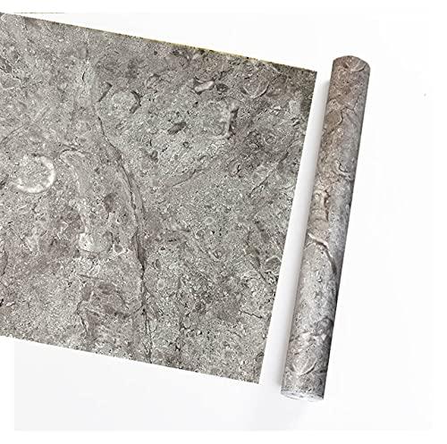 DNAN Papel Pintado de mármol Autoadhesivo Adhesivos Impermeables para Muebles Vinilo Decorativo baño Cocina Papel de Pared de Dormitorio Papel Pintado del PVC del gabinete (Color : D)
