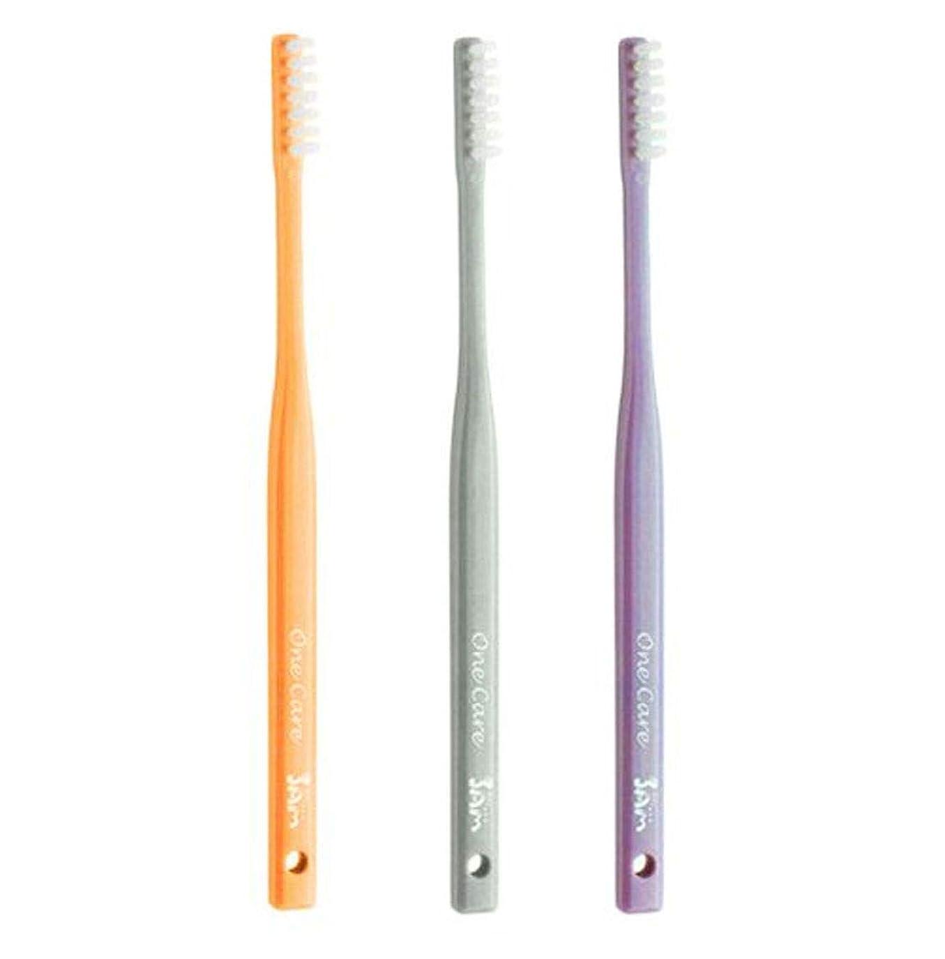凝視水分痛みサムフレンド 1列 歯ブラシ ワンケア OneCare 5本(アソート)