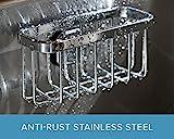 STAUBER Best Sponge Holder - Stainless Steel - Innovative Design...