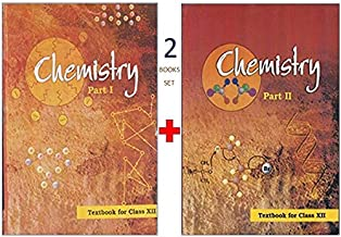 NCERT CHEMISTRY PART 1 AND PART 2 FOR CLASS 12 COMBO