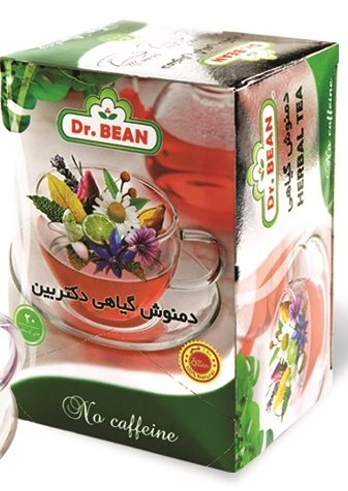 Dr.BEAN Herbal Tea Teabag,20 Counts,100% Natural ingredients, No Preservatives, No Chemicals,