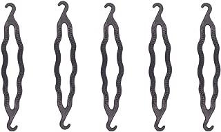 6 Pieces Plastic Bun Maker Curler/Hair Holders Twist Holder Clip Magic Roll Bun Hair Twist Braid Tool