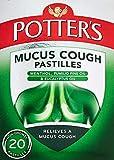Potter's Mucus Cough Pastilles, Non-Drowsy