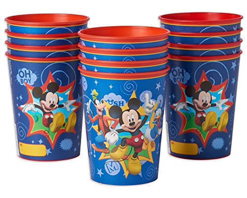 American Greetings Mickey Mouse 16 oz. Plastic Party Cup, 12-Count