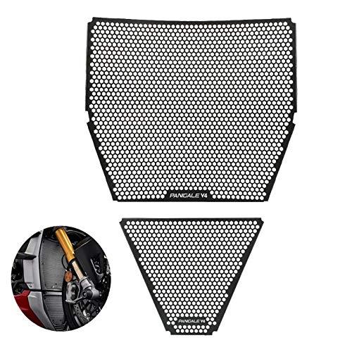 Panigale V4 Motorrad Aluminiumlegierung Kühlerabdeckung Kühler für Panigale V4 2018-2020 Panigale V4 R 2019-2020 Panigale V4 S 2018-2020 Panigale V4 S Corse 2019-2020