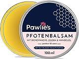Pawlie's - Balsamo per zampe di cane con cera d'api per l'inverno, protezione per le zampe del cane, crema per zampe, unguento per cani, Paw Balm, protezione perfetta per cani e gatti