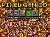Pixel Gun 3D Golden Weapons Gameplay