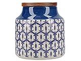 Creative Tops Drift Azul Almacenamiento Jar