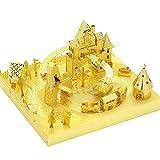 MU Amusement Park Roller Coaster 3D Metal Puzzle Assemble Model Kits DIY Laser Cut Jigsaw Toy YM-L074-C