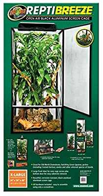 zoomed Zoo Med Repti Breeze Screen Cage, 61 x 61 x 122 cm from CROCI