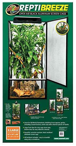 Zoo Med NT-13 ReptiBreeze Aluminium Terrarium 61 x 61 x 122 cm