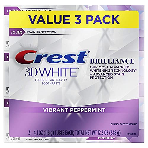 3D White Brillance Toothpaste (. 0 1 Box of 3 Pack, (4.1 Ounce))