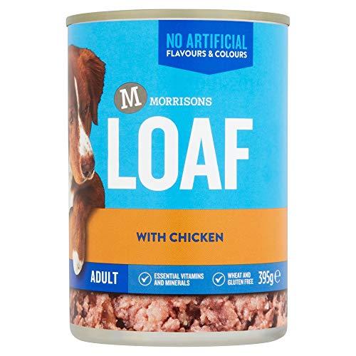 Morrisons Adult Dog Loaf with Chicken, 395g